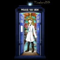 15th Doctor and Tardis by timelord53