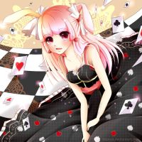 Poker Bunny by shanyii