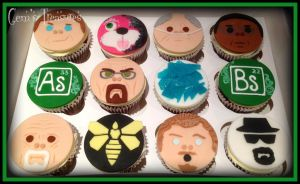 Breaking Bad Cupcakes by gertygetsgangster