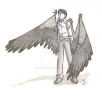 Roy Mustang Black Winged Angel by J-M-Smith-Artworks