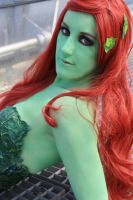 Poison Ivy [Green Skin Comic] // 2014 by Jacklinn