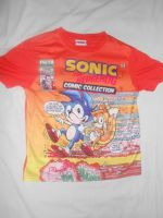 Sonic Comic No. 3 T-shirt by BoomSonic514