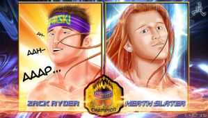 Internet Championship: Zack Ryder vs Heath Slater by Roselyne777