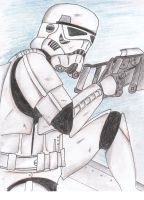 stormtrooper gunning by Funtimes
