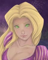 Repunzel Disney by Black-Strawbarrie