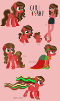 Chili Snap Reference Sheet by princess-madeleine