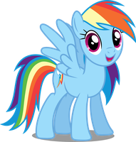 Vector #65 - Rainbow Dash #12 by DashieSparkle