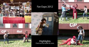 Fan Expo 2012 Highlights by leighanief