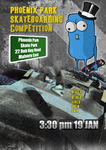 Skate Competition Poster by kitty-23