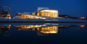 Oslo Opera House by Mr-Tobi