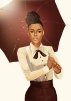 Janelle Monae by Lapponia