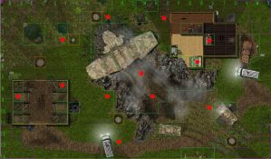 Horrorclix Map - Crash Site by ChaosIndustries