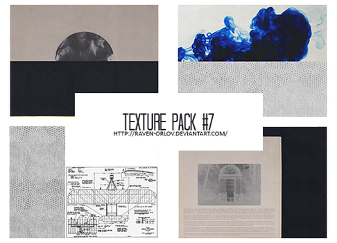Texture Pack #7 - Books and Mechanics by RavenOrlov