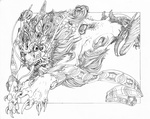Leap - Coloring Page by Pythosblaze