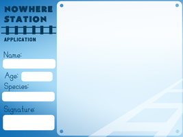 NowhereStation application form by Sellleh