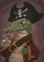 Captain Jack Croco by zimra-art