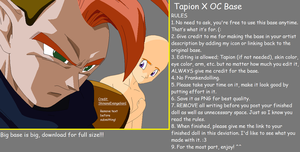 Tapion X OC Base by ShinanaEvangelian1
