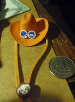 Super Tiny ONE PIECE Ace's hat by SailorUsagiChan