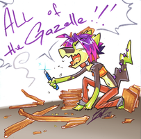 ALL of tha GAZELLE! by carnival