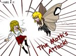 The Moth's attack by Ameban