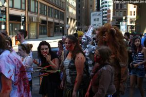 Boston Zombie March 2014 - Zombie March 13 by VideoGameStupid