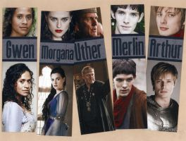 Merlin Bookmark Set by WildeMoon