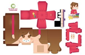 Mabel Pines Papercraft by Moomuu