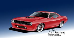 1970 Cuda Viper by zvtdesigns