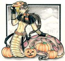 Protector of the Pumpkin Patch by Nanuka