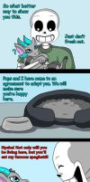 Sans's new pet (page 15) by joselyn565
