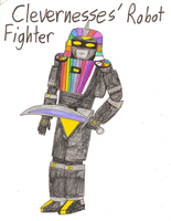 TCU - Clevernesses' Giant Rainbow Robot Fighter by Magic-Kristina-KW