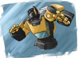 Sunstreaker try by crimson-nemesis