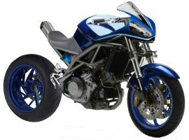 Cagiva Raptor Streetfighter by LMColledge