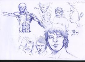 sketches by Lofo