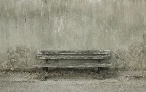 a bench by brujo