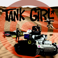 Tank Girl and Friends by MeloCardio