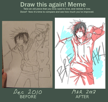 Draw This Again Meme by Kime-baka-onee-chan