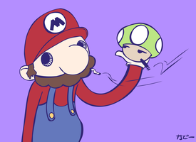 Super high Mario bro's by Kabiscube
