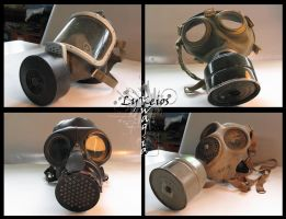 Gas Mask Collection by kiwitiki