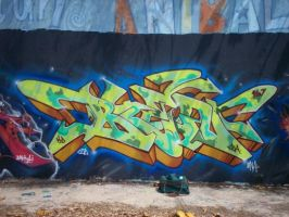 BLEN 167 FUA STAR WARS  WALL by BLEN167