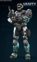 Agent Michigan - Halo Reach Style by Eric-Vicarth