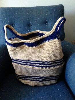 Crochet basket/bag by rockie7777