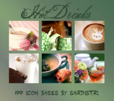 Icon Bases: Hot Drinks by Sardistri