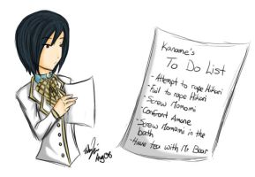 Kaname's To Do List by Bootleg