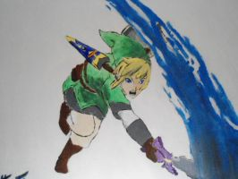 Skyward Sword Painting by kagaminekiseki
