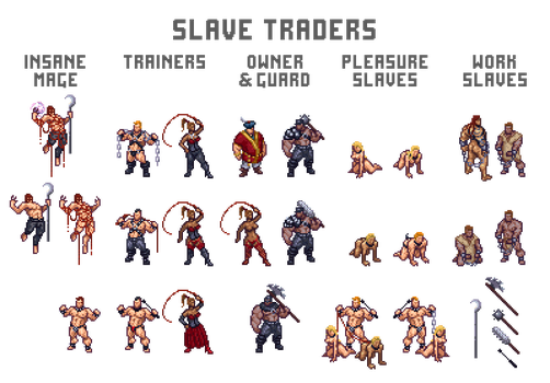 Sheet Slave traders by Remietc