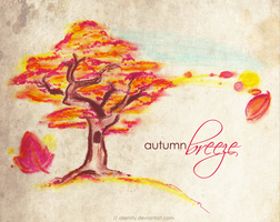Commish: autumn breeze by aternity