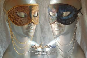 Butterfly Necklace Masks by Angelic-Artisan