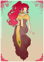 The Red Goddess by Lambentworld