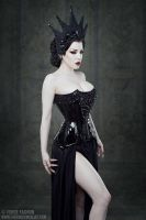 Threnody in Velvet for Forge Fashion by Trinitynavar